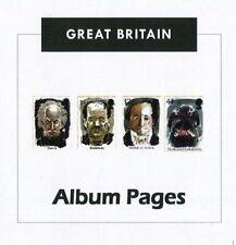 Great Britain CD-Rom Stamp Album 1840-2018 Color Illustrated Album Pages