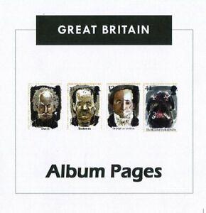 Great Britain CD-Rom Stamp Album 1840-2016 Color Illustrated Album Pages