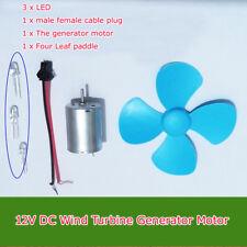 12V 20V 200~6000rpm DC Micro Wind Turbine Generator Motor Toys Motor for DIY