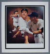 MICKEY MANTLE SIGNED AUTO AUTOGRAPH DANNY DAY LITHO LITHOGRAPH  UDA UPPER DECK