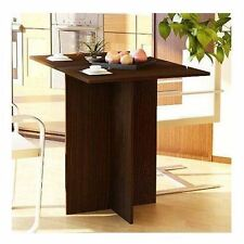 Dining Tables For Small Spaces Size Kitchen Folding Wood Room Furniture Prep New