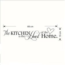 Kitchen Words Wall Stickers Decal Home Decor Vinyl Art Mural DIY Removable