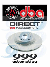 DBA DBA2050 disc brake rotor/rotors Front for Holden CREWMAN 2005-2007