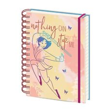 Genuine Disney Mulan Nothing Can Stop Me A5 Wiro Hardback Notebook Note Pad