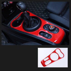 ABS Carbon Fiber Printed Control Console Gear Panel Cover Sticker Moulding Trim