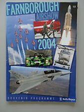 FARNBOROUGH AIR SHOW PROGRAMME 2004