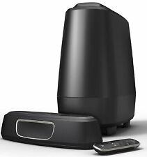 "POLK AUDIO - 2.1-CHANNEL SOUNDBAR SYSTEM WITH 6-1/2"" SUBWOOFER AND DIGITAL AMPLI"