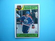 1983/84 O-PEE-CHEE NHL HOCKEY CARD #212 WAYNE GRETZKY RB NM+ SHARP!! 83/84 OPC