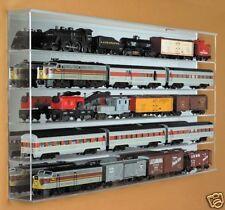"""O"" Gauge Train Display Case - Acrylic -Clear Back"