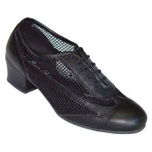 Ladies Dance Shoes Latin Salsa Jive Line UK 3 - 8