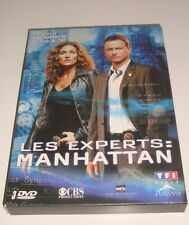 DVD COFFRET COLLECTOR LES EXPERTS MANHATTAN SAISON 2 EPISODES 2.1 A 2.12