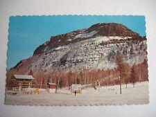 MOUNT MCKAY IN WINTER THUNDER BAY ONTARIO CANADA VINTAGE PETERBOROUGH POSTCARD
