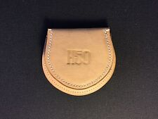 Vegetable-tanned leather coins purse,hoof style