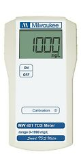 Milwaukee Instruments MW401 Portable TDS Meter range: 0 -1990 mg/L w / Probe
