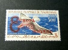 Mauritania Stamp Scott#  see note after C16 Overprint-Bird Type 2 1961 MH C525