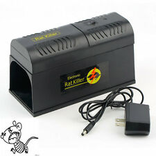 Electronic Mice Rat Killer Rodent Repeller Electric Trap Zapper Pest Control LX