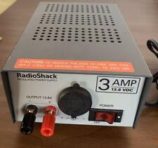 Rugulated Power Supply - 3 AMP -13.8 VDC - Radio Shack