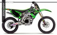 KAWASAKI KX250F KX450F 2009 2010 2011 MAXCROSS GRAPHICS KIT FULL MSP-STYLE-03