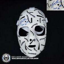 Gerry Cheevers Signed Autographed Goalie Mask Boston Vintage Marc Poulin