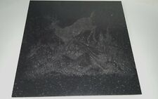 "Black Granite Tile Picture of Deer Dale C. Thompson 1995 12"" x 12"" Decor"