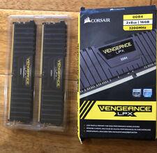 CORSAIR Vengeance LPX 16GB (2PK x 8GB) 3.2 GHz DDR4 DRAM Desktop Memory Kit RAM