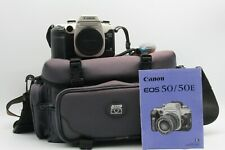 Canon EOS 50E 35mm Film SLR Body only with instructional manual plus Jessops bag