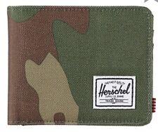 Herschel Supply Co. Roy rFID Blocking  Woodland Camo Bifold Wallet
