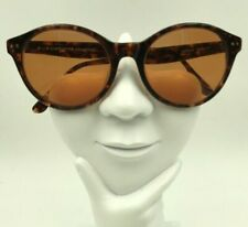 Vintage Liz Claiborne 902 Tortoise Round Sunglasses Frames Only