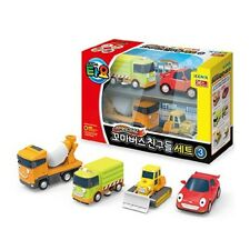 TAYO The Little Bus  Friends Special  Set V3 Toy Cars(Ruby, Speedy, Chris, Bill)
