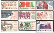 FX1 to FX9B Christmas Plain Booklets unmounted mint. Each sold separately.