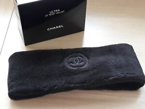 Comliment from Chanel Makeup black Chanel headband Ultra le Teint Velvet NEW