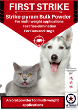 Flea Killer powder for cats and dogs Super sample pack. 500 MG