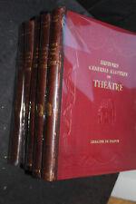 Histoire générale illustrée du théatre. Dubech. 5 volumes in4. 1931