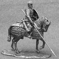 Metal Toy Soldiers Cavalry Knight Mounted Mongolian Rider 1/32 Unpainted 54mm
