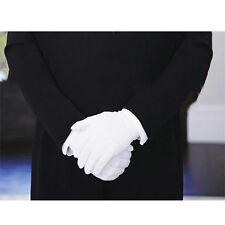 1 Paar Männer Damen Handschuhe weiß Partys Hochzeit Chauffeur