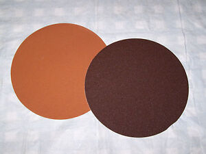 Sanding Discs - Mix or Match Grits  -  Lot includes 3, 15 inch discs