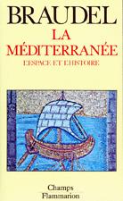 BRAUDEL * LA MEDITERRANEE * L'ESPACE et L'HISTOIRE * RARE * Du:01/09/1997