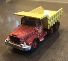 Lesney Matchbox King Size Scammell Contractor Scammell Tipper Truck K-19