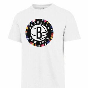 Brooklyn Nets Men�s White T Shirt Vintage Gift For Men Women Funny Tee