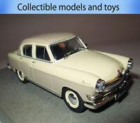 car model GAZ-21R Volga, auto legends of the USSR, casting, 1: 43
