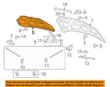 Chevrolet GM OEM 07-11 Aveo Hood-Insulation Pad Liner Heat Shield 95472868
