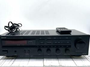 Denon DRA-325R stereo receiver with Remote and Manual Bundle