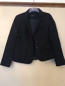 NUOVO Donne Blu navy blazer TOPSHOP Taglie 6 8 10 12