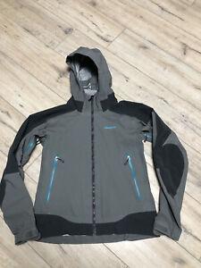 Patagonia Women's Triolet H2NO 3L Hardshell Waterproof Rain Grey Jacket Size M