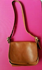 COACH Brown Leather Crossbody Handbag- Pre-Owned 100% VINTAGE Authentic