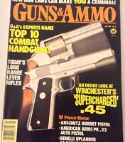 Guns & Ammo Magazine Combat Handguns Supercharged .45 May 1989 072917nonrh
