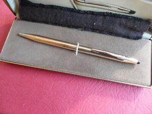 Cross Century 1/20 14KT Rolled Gold Ballpoint Pen - Boxed