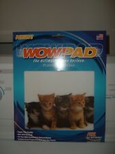 New Wow! Pad Mouse Mat 5 Kittens Antibacterial Optical or Standard Mouse