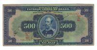 500 Mil Reis 1936 C163c / P.92c - Brazil Banknote