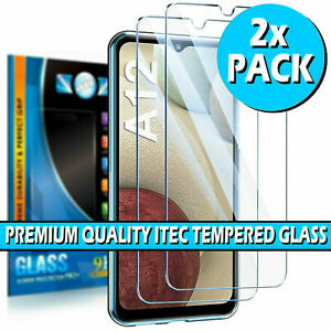 For Samsung Galaxy A12 Gorilla Tempered Glass Screen Protector Film Cover Guard